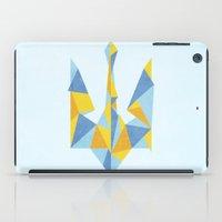 ukraine iPad Cases featuring Ukraine Geometry by Sitchko Igor