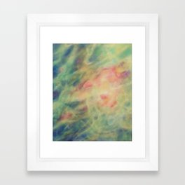 Aqueous Sfumato Framed Art Print