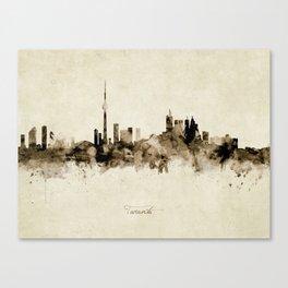 Toronto Canada Skyline Canvas Print