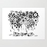 flowers Art Print