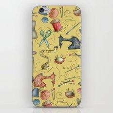 Sewing tools iPhone & iPod Skin