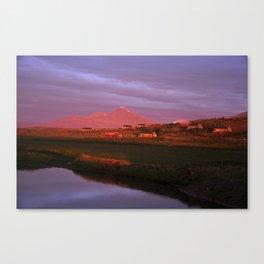 Midnight Sun II. Canvas Print