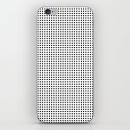 The Tiny Unruly Pink Dot iPhone Skin