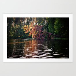 Lake Memories Art Print