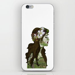 April in the Apple Blossoms iPhone Skin