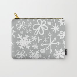 Snowflake Concrete Carry-All Pouch