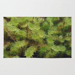 Green moss Rug
