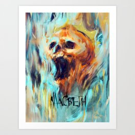 Macbeth Poster - Original Art by Kyle T. Webster Art Print