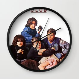 The Breakfast Club Poster Wall Clock