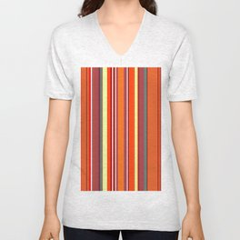 Stripes-023 Unisex V-Neck