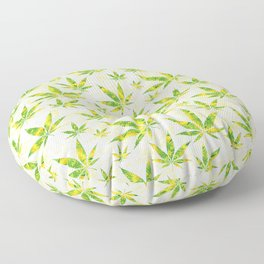 Weed OG Kush Pattern Floor Pillow