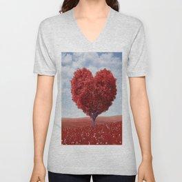 Tree heart Unisex V-Neck