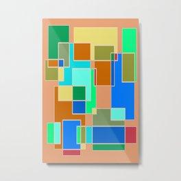 Abstract #927 Metal Print