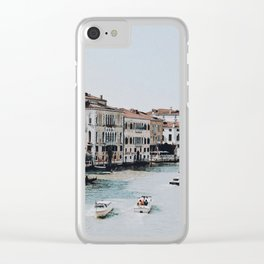 venice ii / italy Clear iPhone Case