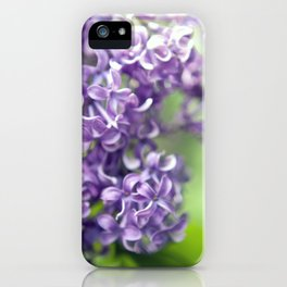 Spring Lilac iPhone Case