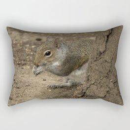 Woodland grey squirrel Rectangular Pillow