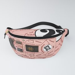917 Pink Pig Fanny Pack