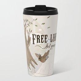 Free like a tree Travel Mug