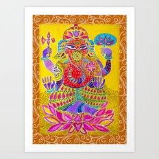 Shri Ganesh  Art Print