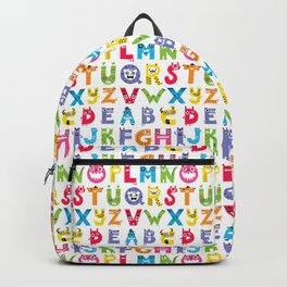 Alphabet Monsters Backpack