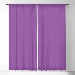 From The Crayon Box – Vivid Violet - Bright Purple Solid Color Blackout Curtain