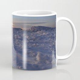 Minimal Winter Landscape in Wisconsin Coffee Mug