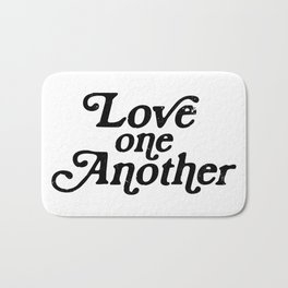 Love one Another Bath Mat