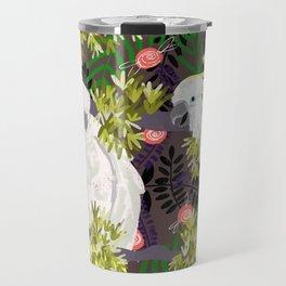 Cockatoos Travel Mug