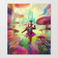 mad hatter Canvas Prints featuring Mad Hatter by dreamshade
