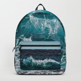 Breakers Rolling In To Shore Backpack