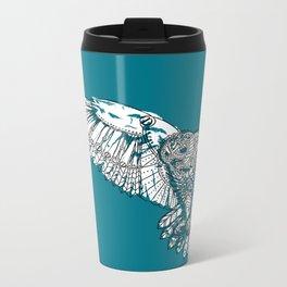 Mechanical owl Metal Travel Mug