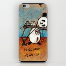 HOLD YOUR HEAD UP iPhone & iPod Skin