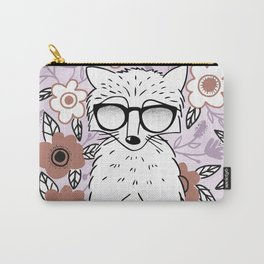 Raccoon in a Garden Carry-All Pouch
