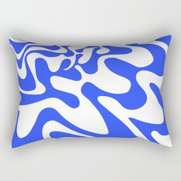 Swirly Whirly: Abstract Pop Art Painting by Bruce Gray Rectangular Pillow