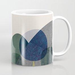 Trees and mountains Coffee Mug