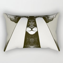 Galactic Cat Rectangular Pillow