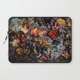 Leaves Submerged Laptop Sleeve