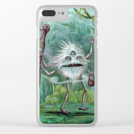 The Witch Doctor Clear iPhone Case
