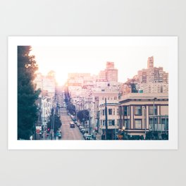 Hills of San Francisco Fine Art Print  • Travel Photography • Wall Art Art Print