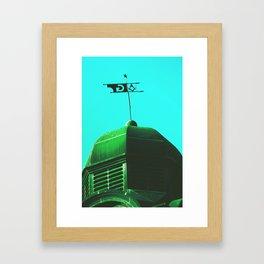 The Green Order Framed Art Print