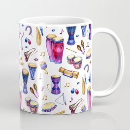 Percussion Instruments Delight Coffee Mug