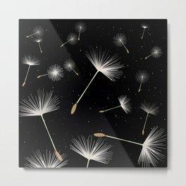 Celestial Dandelions Metal Print
