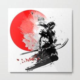 Japanese Warrior Metal Print