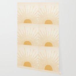 Sun #5 Yellow Wallpaper