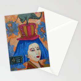 heavy in my mind Stationery Cards