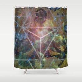 MER-KA-BA Shower Curtain