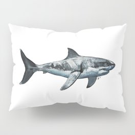 Great White (c) Pillow Sham