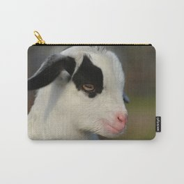 Baby Goat Portrait Carry-All Pouch