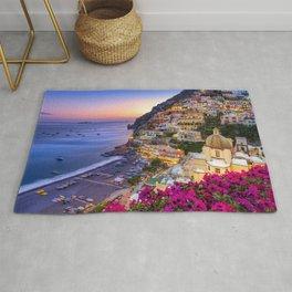 Positano Amalfi Coast Rug