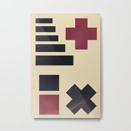 Addition/Multiplication Metal Print
